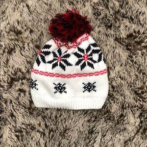 Baby boys knit winter hat